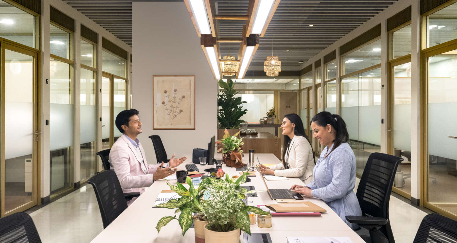 How can shared workspaces help start-ups grow?