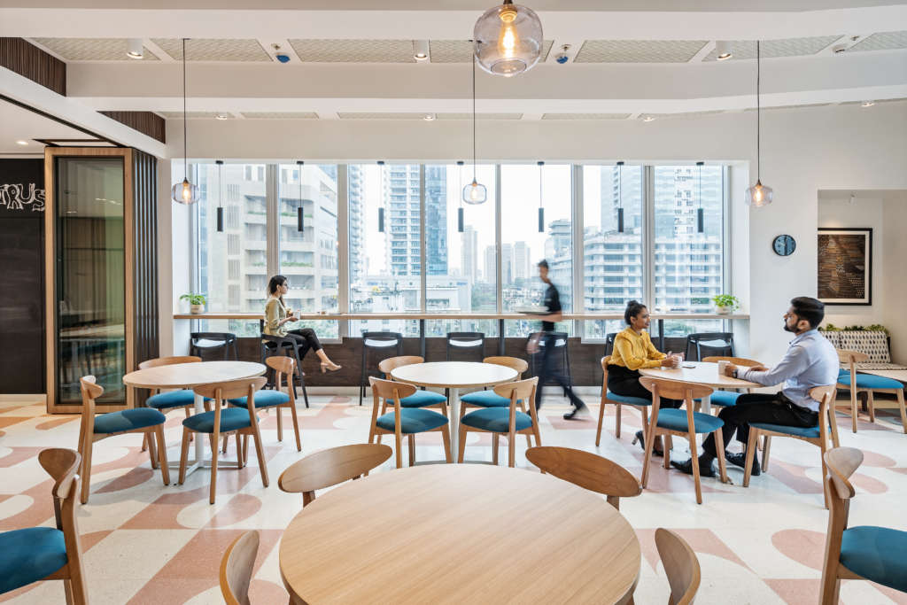 Flexibility of using shared workspace for startups